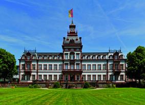Schloss Philippsruhe vorderansicht