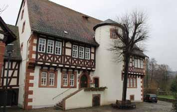 """Aussen anschicht des """"Brüder Grimm-Haus"""""""
