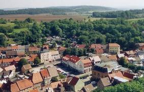 Luftaufnahme von Eckartsberga