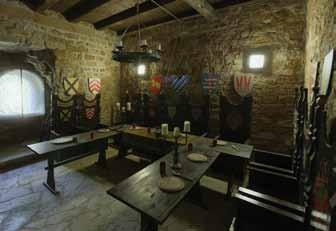 Mittelalterliches Tafelzimmer