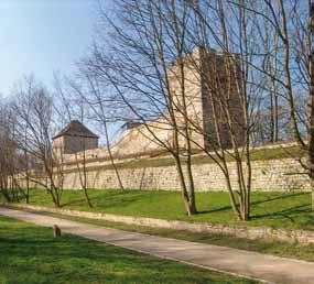 alte Stadtmauer von Weißenfels