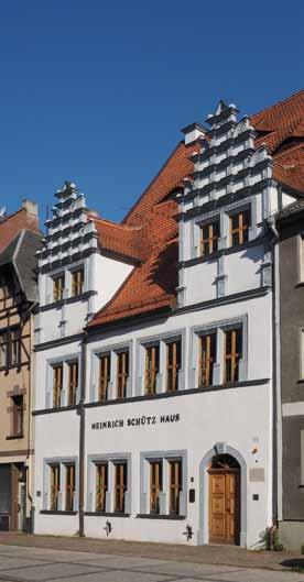 Frontseite des Heinrich-Schütz-Haus