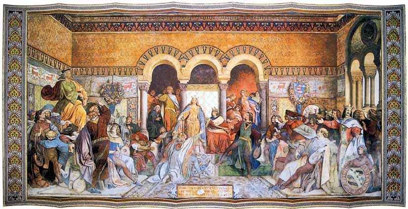 Die Fresken des Moritz von Schwind