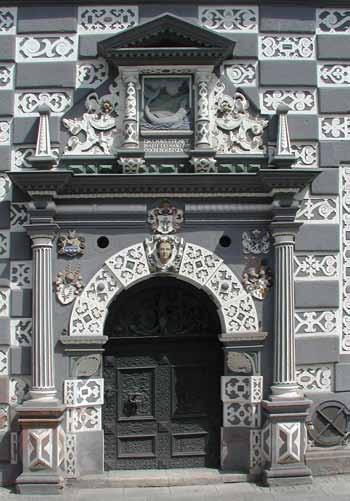 Eingang des Museum