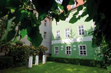 Innenhof des Literaturmuseum