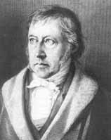Porträt Georg Wilhelm Friedrich Hegel