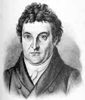 Porträt Johann Gottlieb Fichte