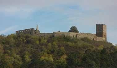 Totalanschicht der Burg Gleichen