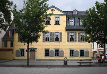 Schillers Wohnhaus vorder Anschicht