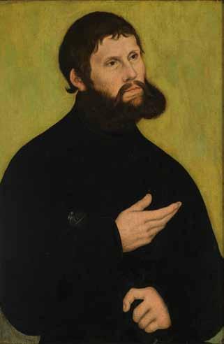 Bildnis Martin Luther als Junker Jörg