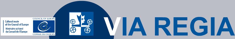 VIA-REGIA logo mit dem Europäischen Kulturouten logo